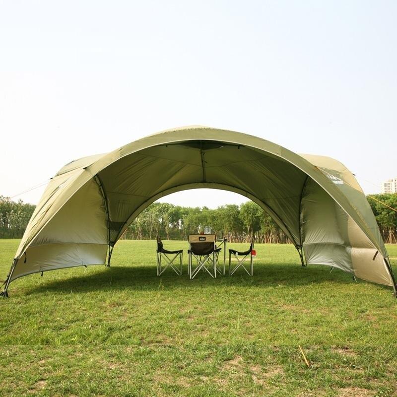 Été en plein air super grande tente de camping auvent tente auvent publicité tentes Pergola tente de plage ultralarge anti-uv gazebo