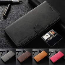 Leather Case For Samsung Galaxy S10+ S10 S9 Plus S8 A30 A40 A50 A70 A80  With Luxury Retro Flip Phone Wallet