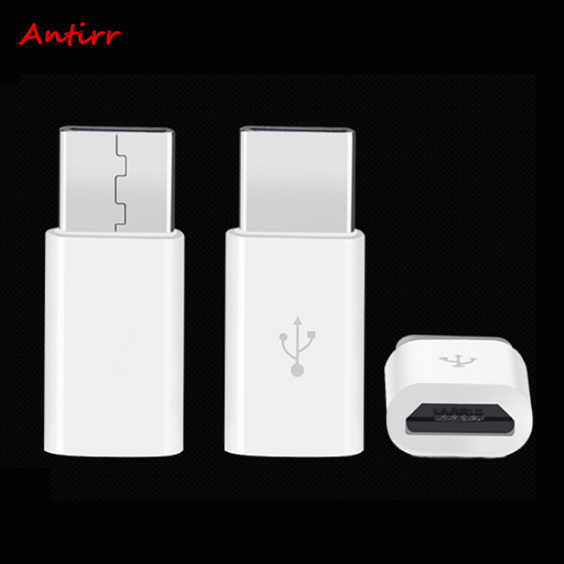 Antirr Micro USB To Type-C USB-C Adaptor convertor Type C Cable For Xiaomi 4 s c i 5S Plus Macbook ChromeBook Nexus 5X 6P A40