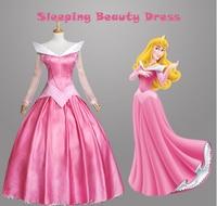 Movie Sleeping Beauty Princess Aurora Luxury Fancy Adult Dress Cosplay Costume