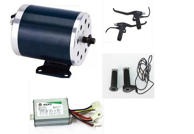 500W 36V electric motor for scooter , 2 wheel scooter motor kit , electric scooter mid-motor kit 12 front wheel electric scooter kit electric scooter spare parts electric skateboard conversion kit