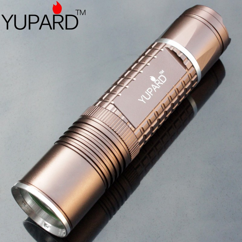 YUPARD XM-L2 Flashlight Waterproof Torch free shipping hot sales AAA 18650 26650 rechargeable battery torch super T6 LED nitecore mh20 mh20w 1000lumen cree xm l2 u2 cri led waterproof torch rechargeable flashlight without 18650 battery free shipping