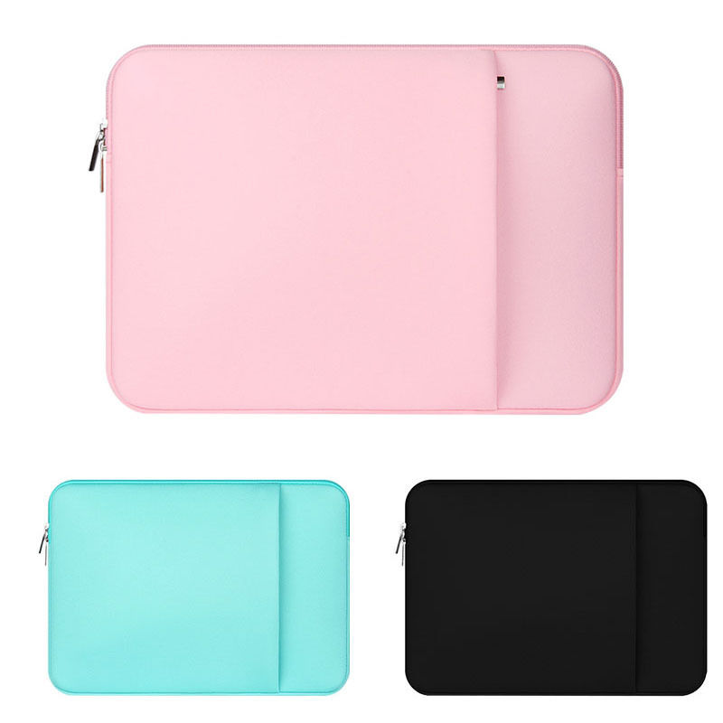 Soft Laptop Bag 11.6 13.3 14.1 15.4 15.6 Laptop Case Sleeve for Macbook Air 13 Pro 13 Notebook Bag for Lenovo Xiaomi Pro 15.6