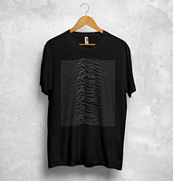Unknown Pleasures T Shirt Top Joy Division English Rock Transmission The Cure Summer Men'S fashion Tee,Comfortable t shirt