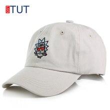 153e511c30b27 Summer Baseball Cap Cotton Embroidery Rick And Morty Cap Cartoon Rick  Smoking Dad Hat For Women Men Hip Hop Snapback Caps LGDTUT