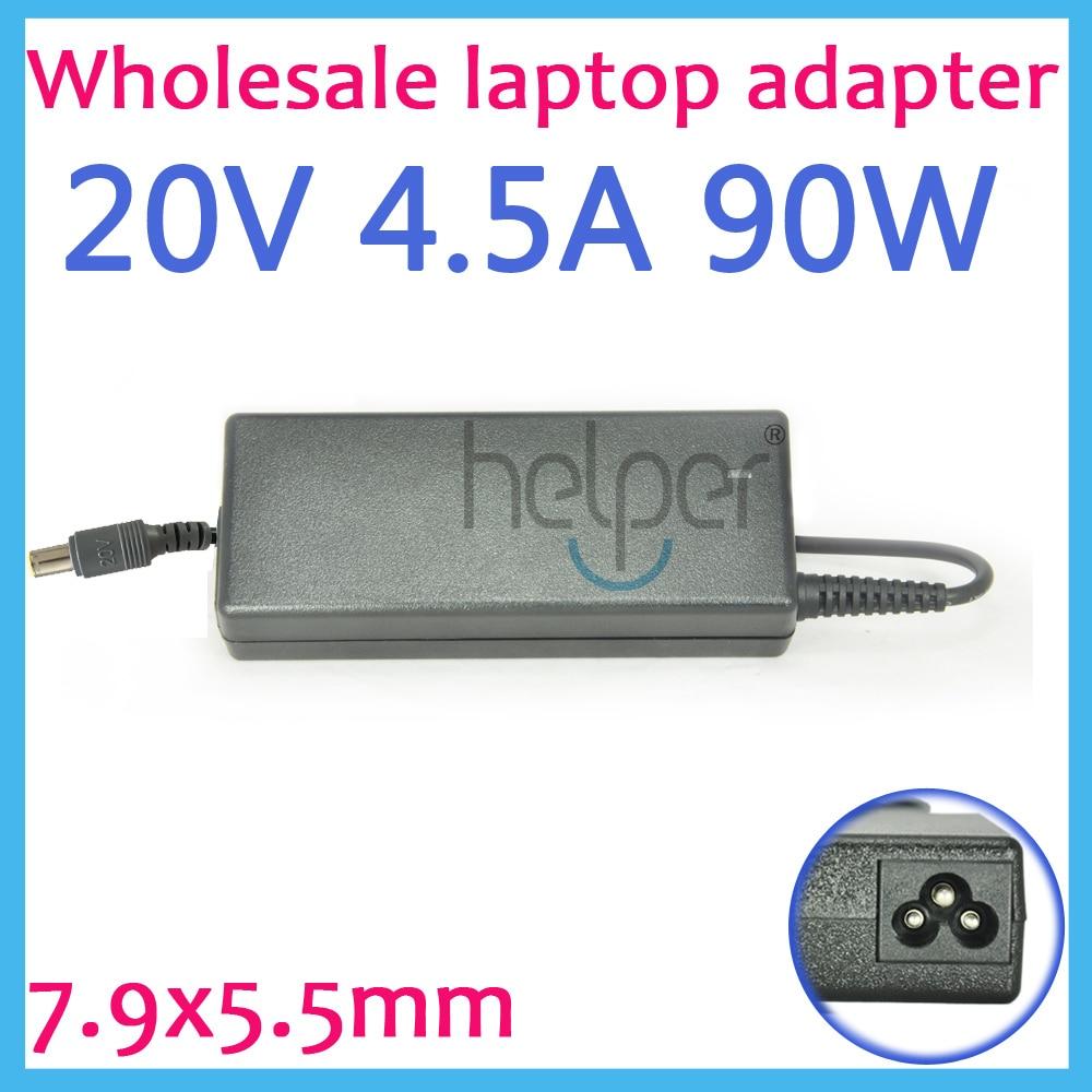 Высокое качество адаптер переменного тока 20 В 4.5a 90 Вт 7.9&#215;5.0 мм Питание Батарея Зарядное устройство для IBM для <font><b>Lenovo</b></font> для thinkPad <font><b>X61</b></font> T61 R61 92 P 40y