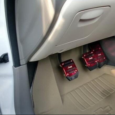 Car Styling Accelerator Brake Pedal Cover Case For Nissan