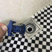 Сток в полу из ПВХ пробка ситечко для удаления отходов Ловец волос коллектор затычка для раковины Ванная комната кухонная раковина аксессуар