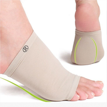 1 Pair Flat Feet Orthotic Plantar Fasciitis Arch Support Sleeve Cushion Pad Heel Spurs Foot Care Insoles foot Pad Orthotic Tool