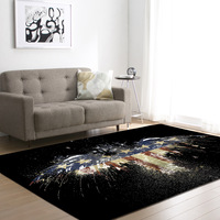 New Retro Type Living Room Bedroom coffee table Rugs Creative Carpet For Modern Living Room Bedroom Kid Room Floor Mats
