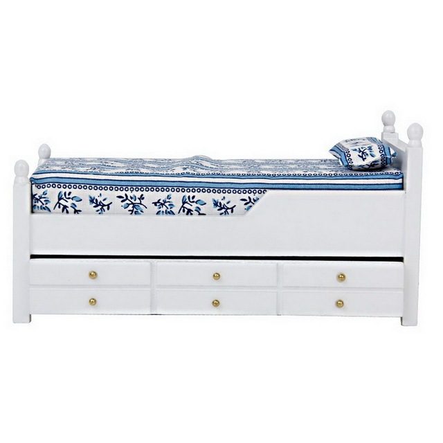 Shipping Furniture Model Fascinating Aliexpress  Buy 112 Dollhouse Miniature Drawer Bed Furniture . 2017