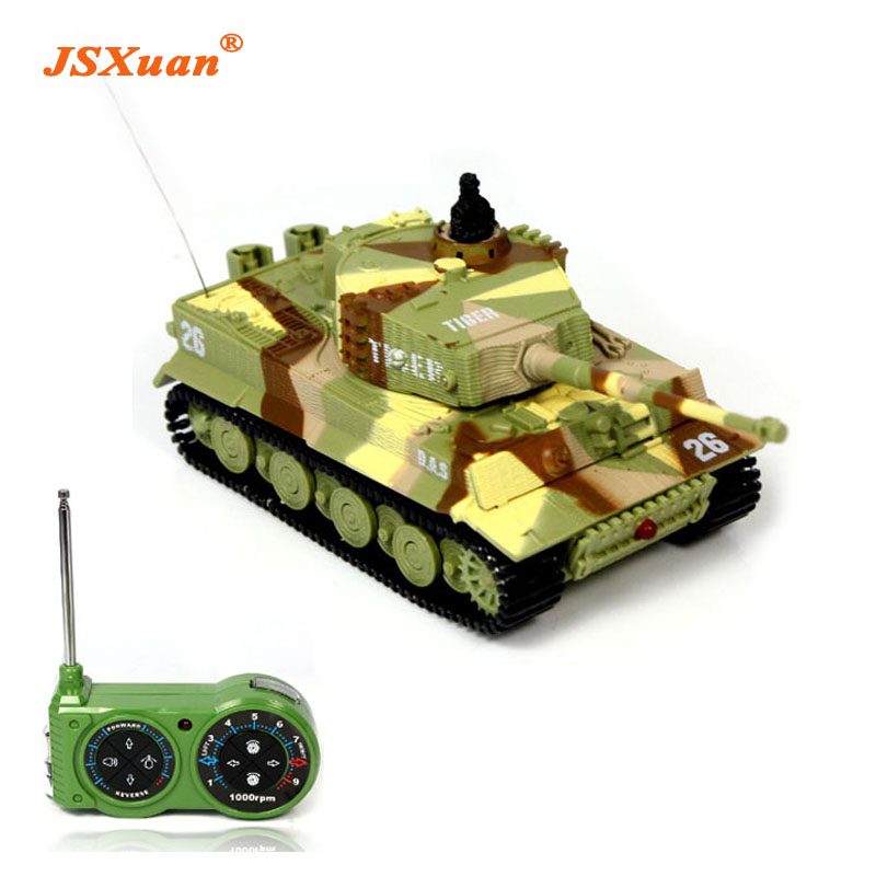 2016 New Promotion! 1:72 Classic R/C Radio Remote Control Tiger RC Tank Model For Children Gifts Free Shipping without box pack