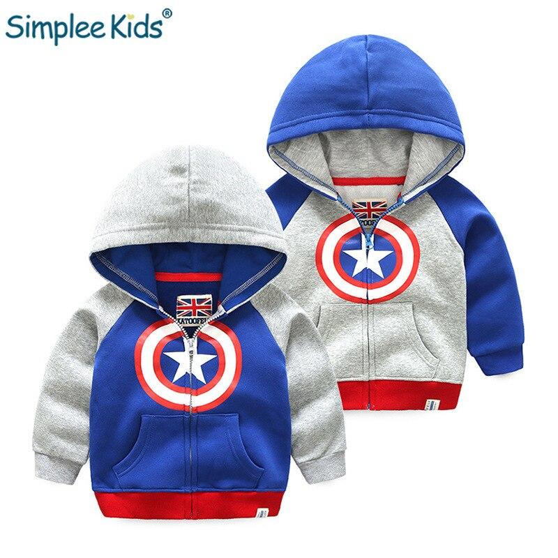 Kinderkleding 2 Jaar.Kopen Goedkoop Simplee Kids America Captain Shield Jongens Tops