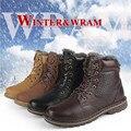 2017 de La Moda de Invierno Zapatos de Los Hombres de Invierno Botas de Gamuza Para Hombres y Damas Bota de la Nieve Martin botas Tamaño 36-48 QQQ040