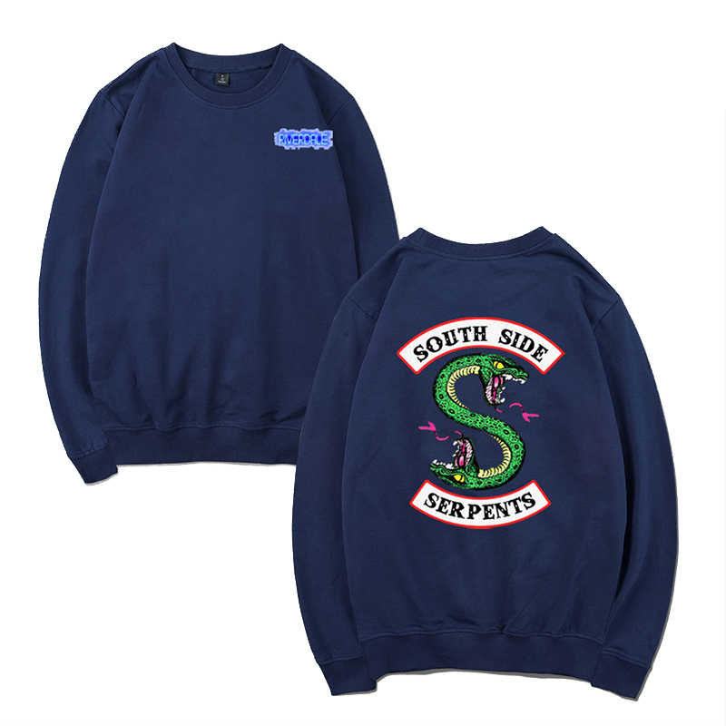 Hot Riverdale Sweatshirt Women Oversize Sweatshirt Comfortable O-Neck Ladies Streetwear Tops Tracksuit Loose Hoodie Sweatshirt