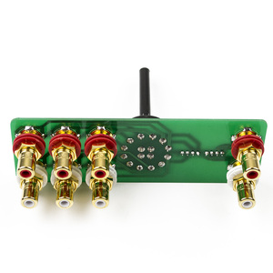 Image 3 - LORLIN UK 2 channel 3 speed audio input selector switch copper plated silver source selection DIY kit for hifi amplifier A10 009