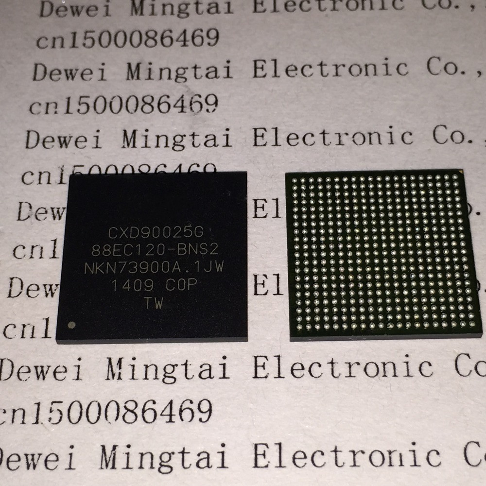 5PCS/LOT CXD90025G CXD90025 88EC120-BNS2 SCEI BGA