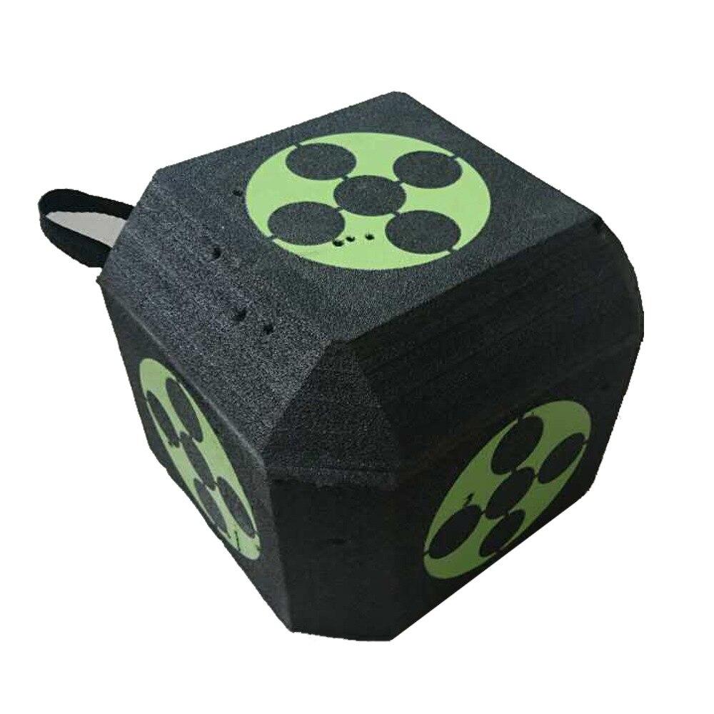 Big 3D Cube réutilisable tir à l'arc cible tir à l'arc flèches de chasse composé arc classique cibles de chasse pour tous les Types de flèches G170