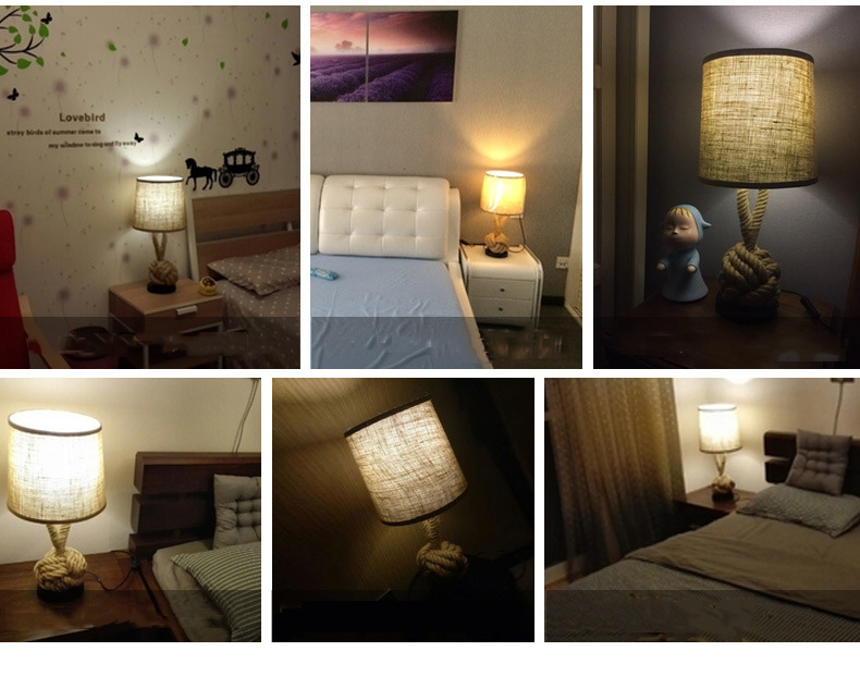 loft arte lâmpada cabeceira quarto estudo escritório