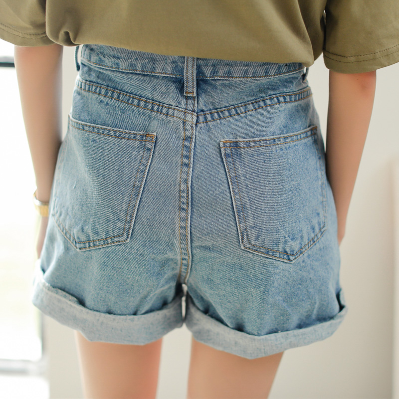 Aliexpress.com : Buy 2017 New Spring Summer Women Denim Shorts ...