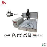 China cnc router 3040 desktop woodwork machinery ball screw mach3 control ER11 limit switch