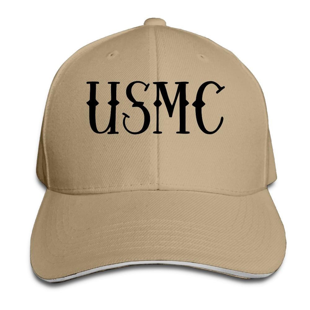 53d600207ca Baseball Cap Tumblr United States Marine Corps USMC Trucker Hats Snapback  Unisex Bone Masculino Feminino Caps