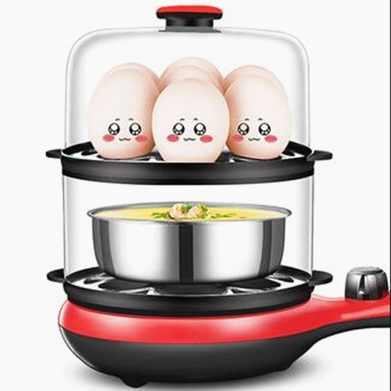 220V 2 Layers Household Electric Multi Cooker Pot Automatic Non-stick Frying Pan Steamed Egg Cooker EU/AU/UK/US Plug220V 2 Layers Household Electric Multi Cooker Pot Automatic Non-stick Frying Pan Steamed Egg Cooker EU/AU/UK/US Plug