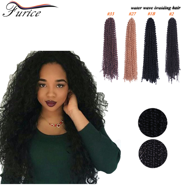 Goddess Water Wave Blonde Crochet Twist With Freetress Braid Hair