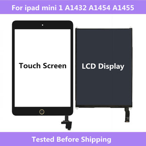 For ipad mini 1 A1432 A1454 A1455 Touch Screen Digitizer panel & LCD Display Screen Repair Parts For ipad mini 1 Tablet(China)