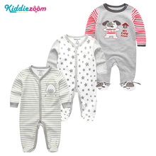 kiddiezoom 3Pcs/sets Unisex Baby Girls Clothes Newborn Full