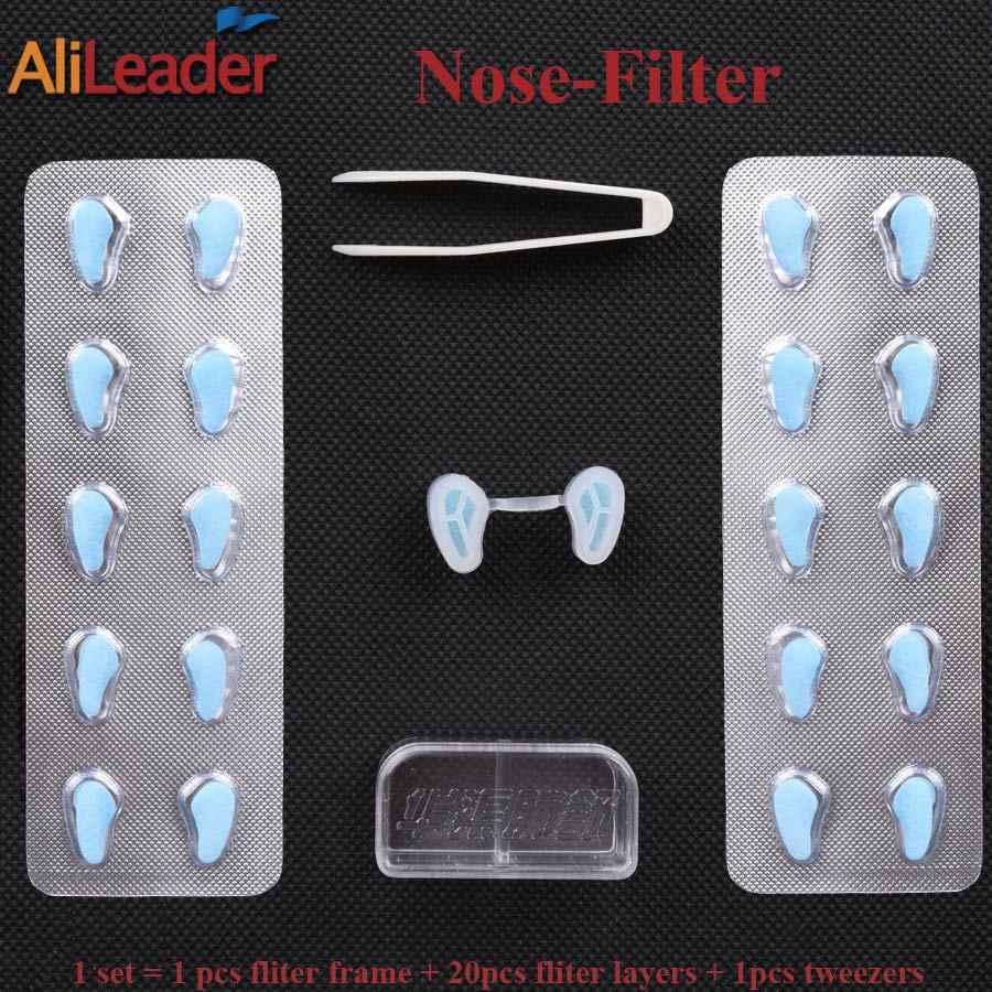 สำหรับสุขภาพจมูกหน้ากากที่มองไม่เห็นหน้ากากจมูกกรองหมอกควันPm2.5ไข้หวัดโรคภูมิแพ้ป้องกันที่มีหลุมจมูกกันชนกรองสูงคุณภาพ