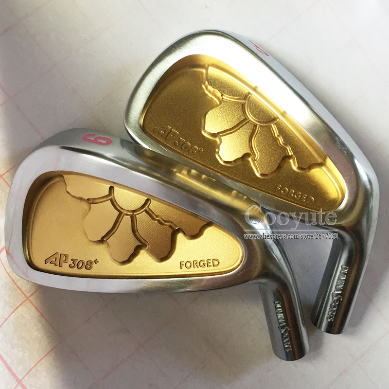 New woman Cooyute Golf heads DUMINA SPORTS FORGED AP308 Golf Irons head set 4-9.P Golf Clubs head no Clubs shaft Free shipping new golf head romaro alcobaca tour stream forged carbon steel golf wedge head have 50 56 58 deg loft no golf shaft free shipping