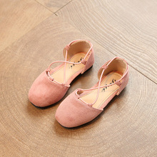 2017 spring new girl princess flannel shoes children's clothing fashion beautiful dance casual shoes size 26-36