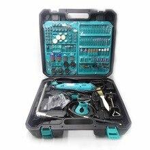 PJLSW 2PCS DIY חריטת תרגיל מקדחה חשמלית Dremel סגנון חדש עט מטחנות מיני תרגיל חשמלי רוטרי כלי מיני טחנת 180w 350 I