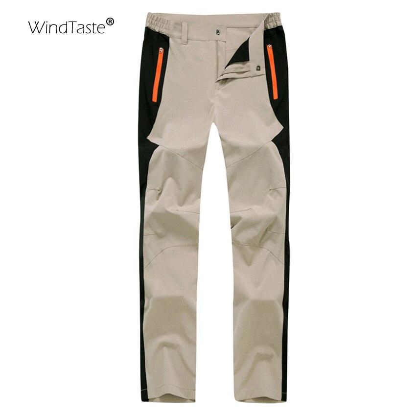 WindTaste Summer Men's Quick Dry Pant Outdoor Waterproof Hiking Pant Camping Trekking Fishing Climbing Male Sport Trousers KA044