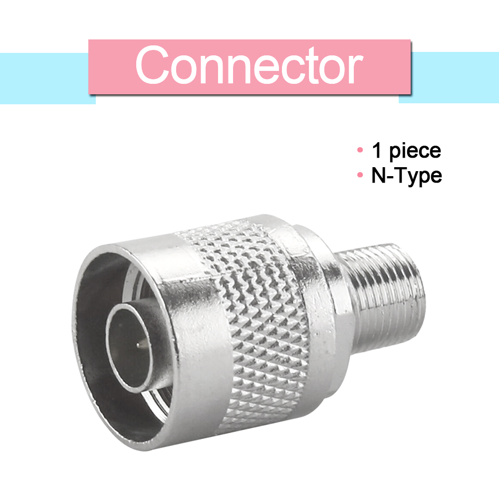 1 Pcs N-Type N Male Plug To F Female Jack RF Coaxial Adapter N Male Connector For GSM DCS 3G Signal Repeater Booster Amplifier
