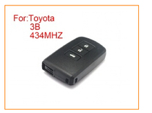 3 Button Smart Remote Key For Toyota 434Mhz Car Alarm Keyless Entry Fob (Circuit Board No:61A651-0101)