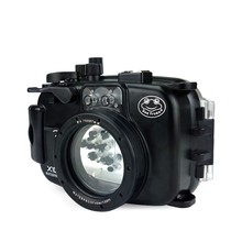 Seafrogs 40m/130ft Waterproof Camera Diving Housing Case For Fujifilm X100F Camera Underwater Camera Bags for Fuji X100F цена в Москве и Питере