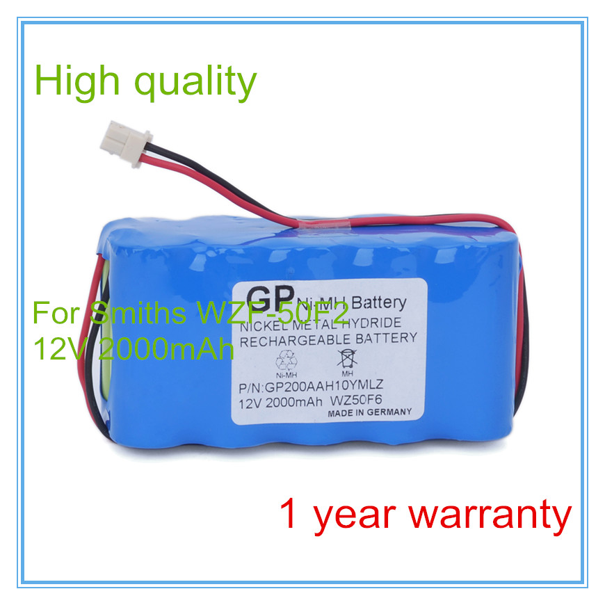 Double channel micro-infusion pump battery Replacement For Infusion Pump WZ50F6,WZ-50F6,WZF-50F2 Syringe Pump battery