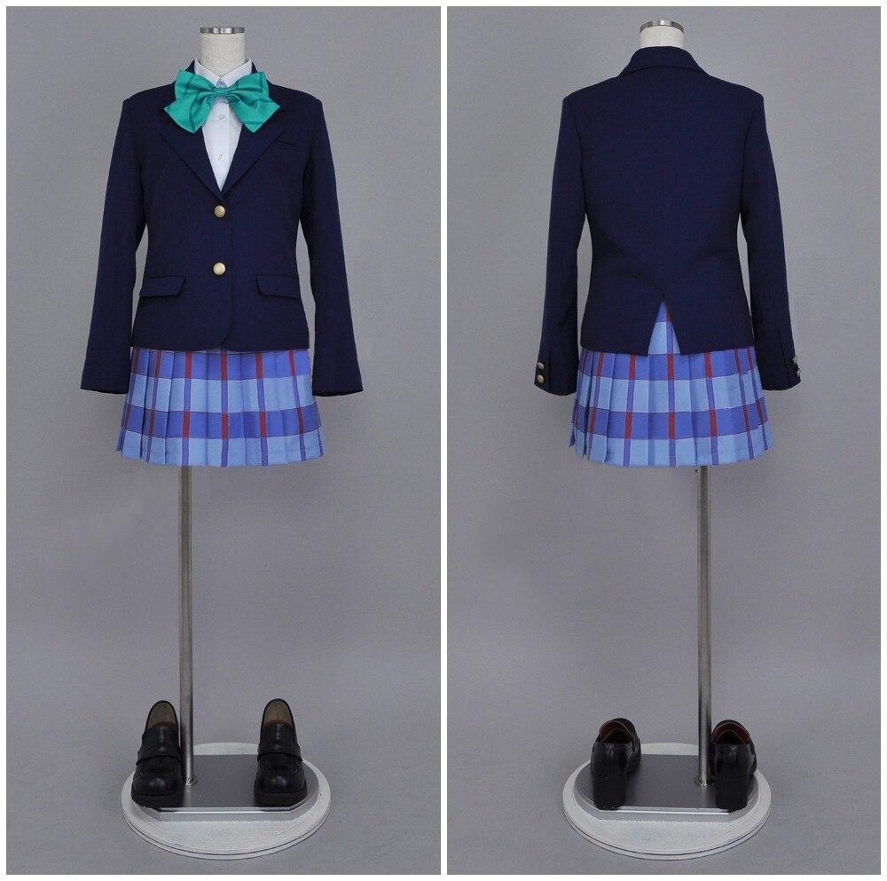 LoveLive Otonokizaka High School Ayase Eli Uniform Cosplay Costume
