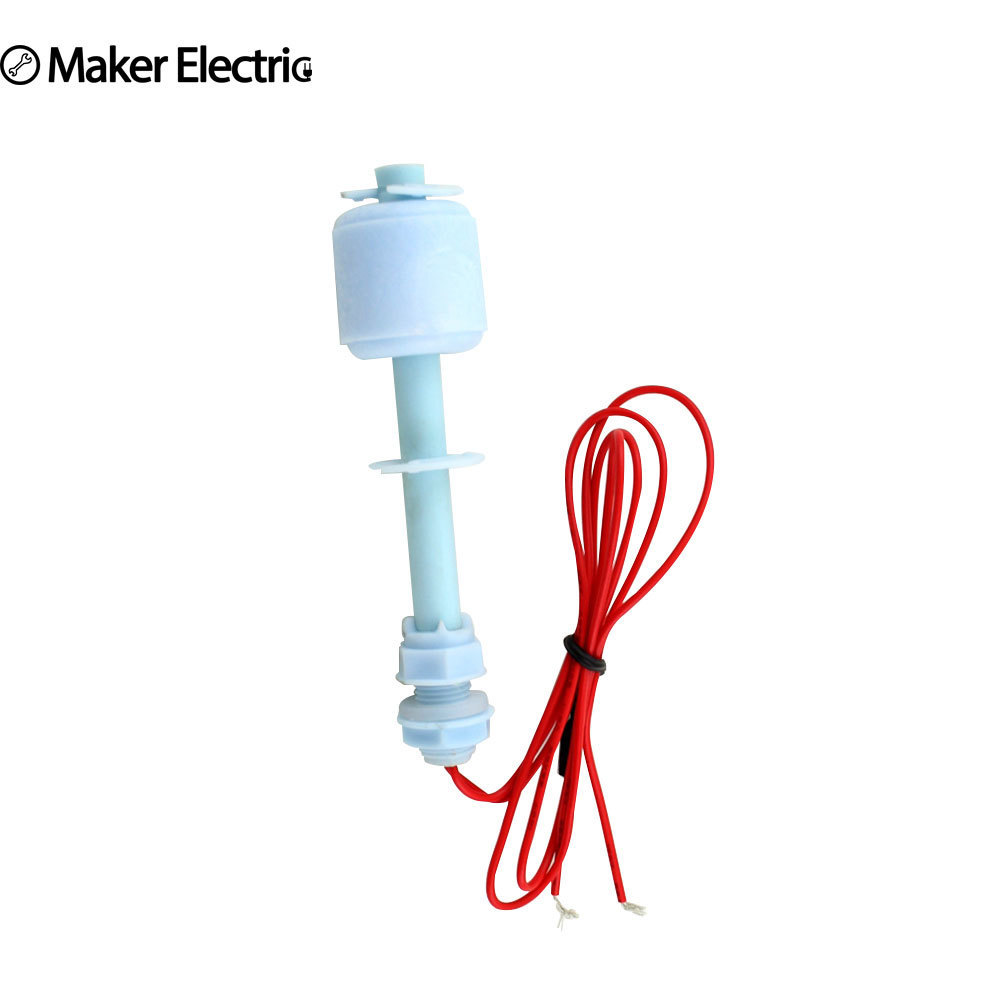 Maker Electric 220V MK-PFS8510 small plastic float switch, Water Level Controller/Inductance Sensor anti corrosion pp plastic duckbill type side mounted float switch level switch water level switch level sensor