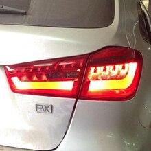 Car Styling for Mitsubishi ASX Taillights 2013-2014 LED Tail Lamp+Turn Signal+Brake+Reverse light