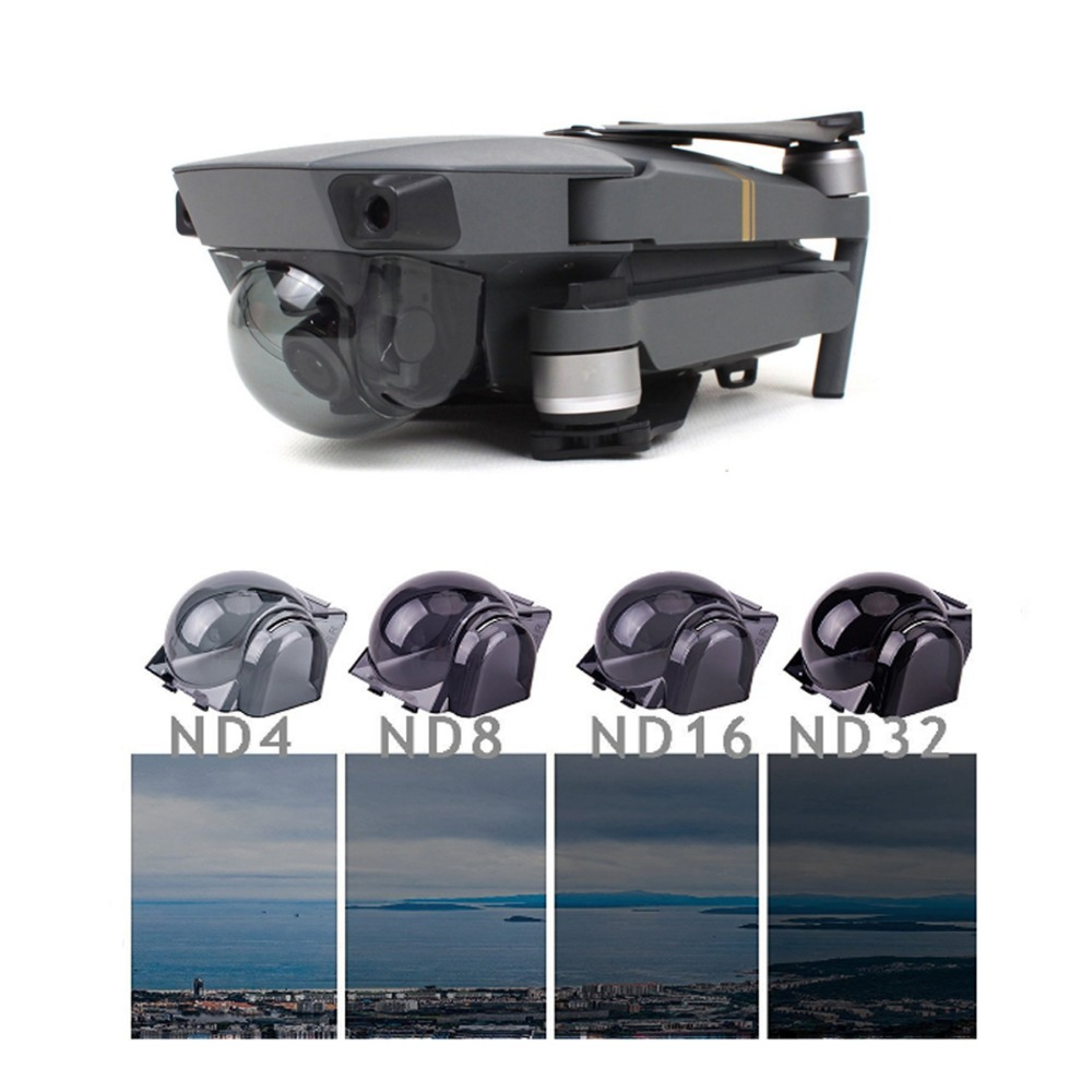 Snap on Filters Set 4Pcs ND4/8/16/32 Lens Filter Kit for DJI Mavic PRO Drone Accessories