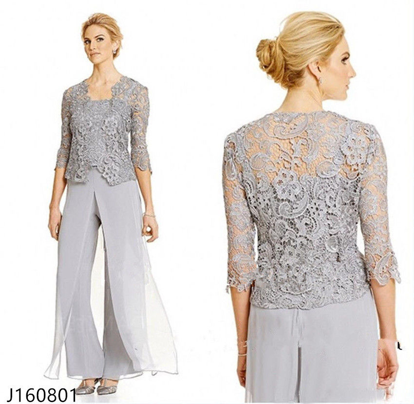 Online get cheap chiffon pant suits for Dress pant suits for weddings plus size
