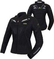 Benkia мотоцикл куртка Лето байкерская куртка из дышащего материала бронежилет куртка для гоночного мотоцикла Jaqueta Motoqueiro куртка для Для женщи
