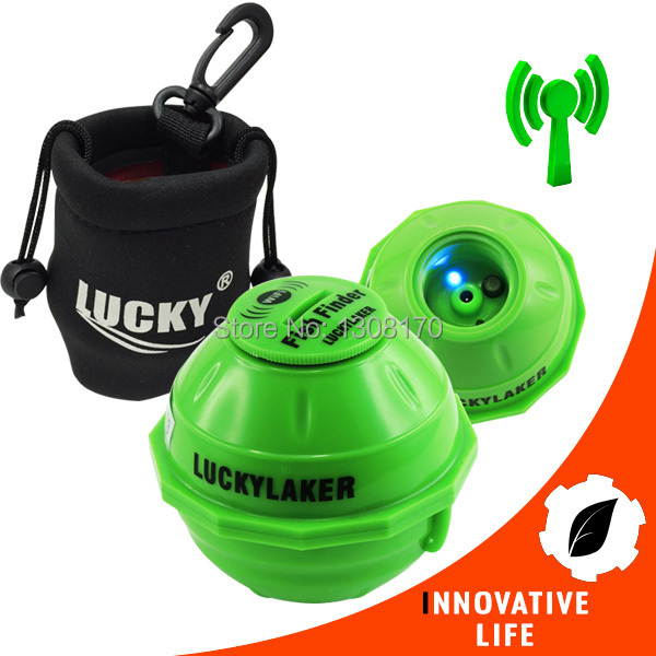 FF-916 Wireless 50M WIFI Sonar IPHONE IPAD IOS Android FishFinder 45 Meters Rechargeable Lithuim Battery with Neoprene Bag эхолот lucky ff 916 wi fi