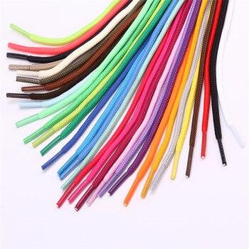 50 cm/100 cm/150 cm/200 cm Ronde Waxed Gekleurde Schoenveters Elastische Lederen Schoenen Strings Boot sport Veters Cord 26 Kleuren