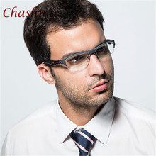 Sport Style Glasses Men Half Frame TR 90 High Quality Optical