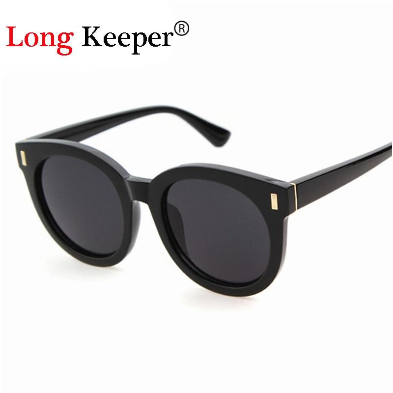 50928e3b917f7 Long keeper dos homens do vintage óculos de sol da marca designer óculos de  sol para mulheres dos homens 2016 retro oval óculos de sol uv400 eyewares  sty695