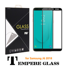 100X 3D Curved Whole Cover J6 Tempered Glass Screen Protector for Samsung Galaxy 2018 Glas Full Protective film